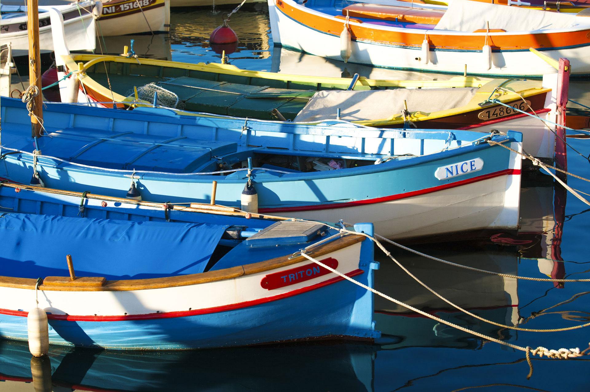 Pointus, Port de Nice. Photo Gérard Perez