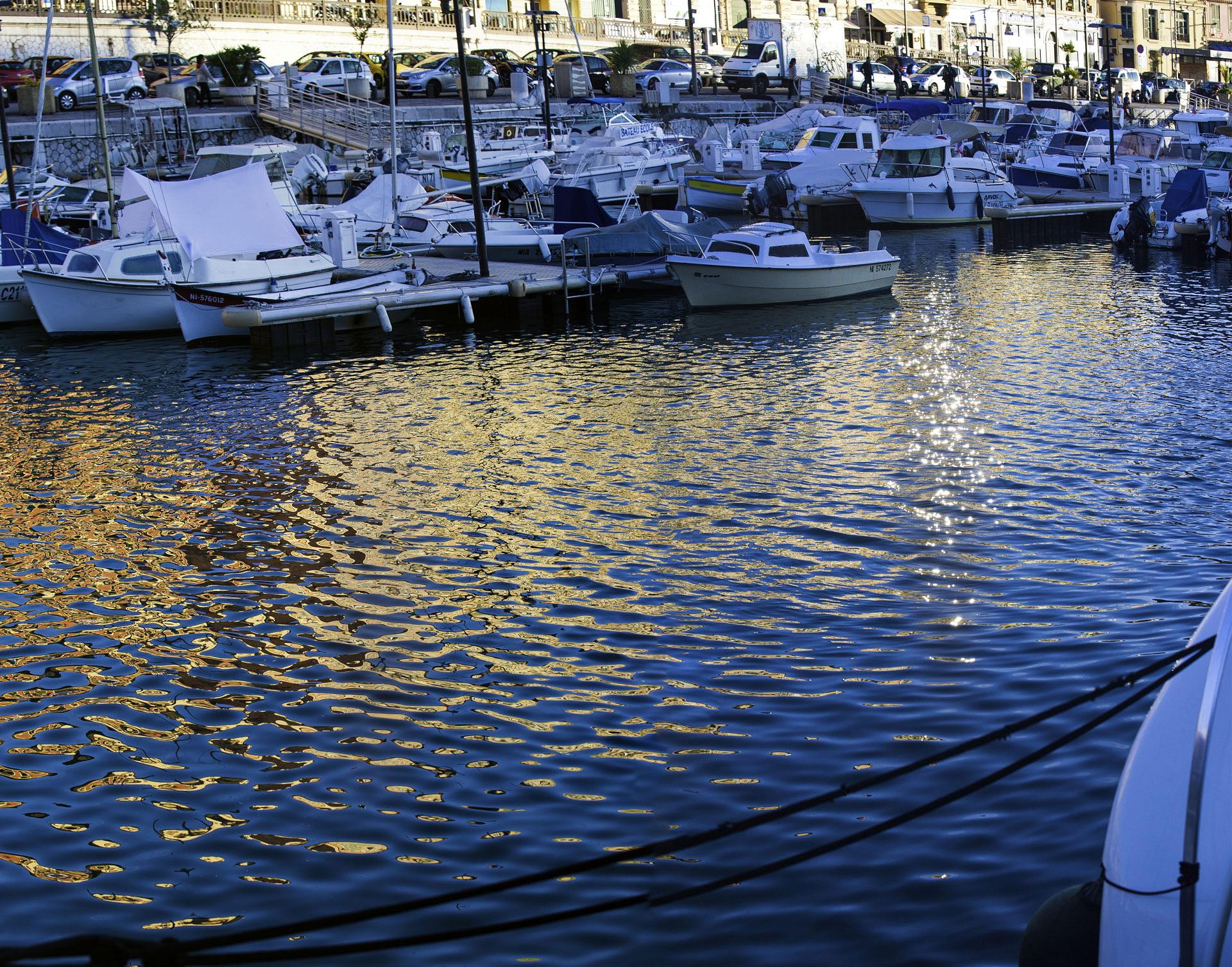 Le Port de Nice. Photo Gérard Perez