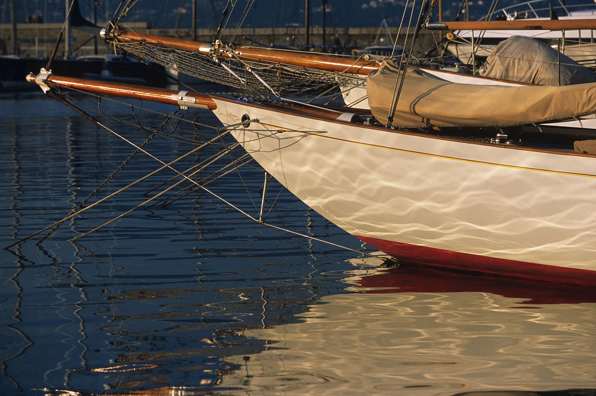 Voilier à Saint Tropez - Photo Gérard Perez