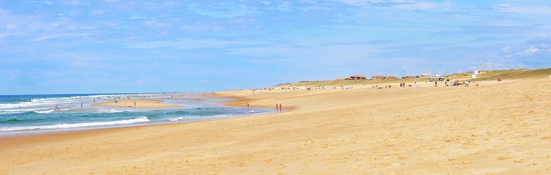 Seignosse, la plage - Photo Gérard Perez