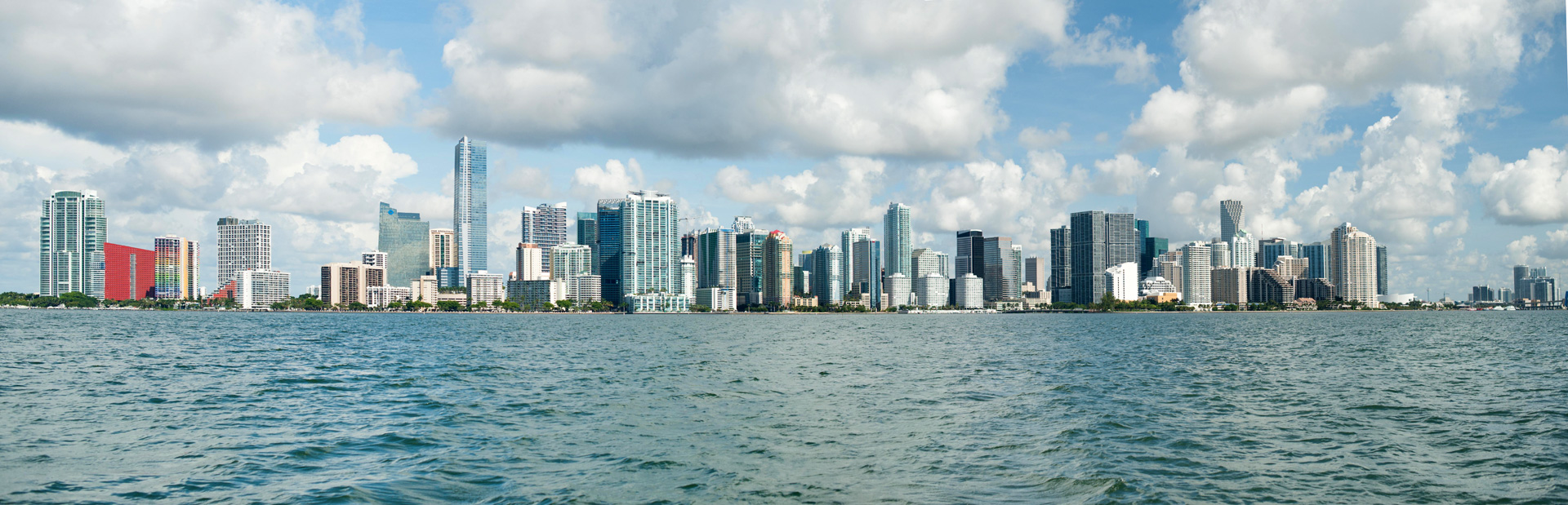 Miami, panoramique. Photo Gérard Perez