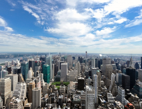 Manhattan, du sommet de l'Empire State Building