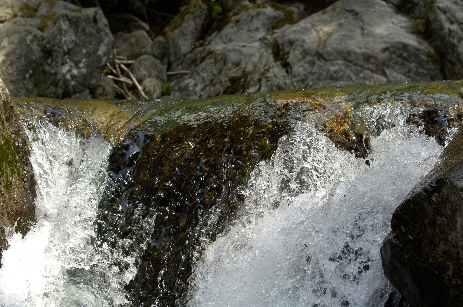 Une Cascade, Parc du Mercantour. Photo Gérard Perez