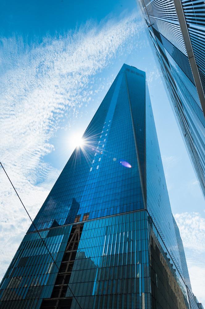 Gratte ciel à Manhattan. Photo Gérard Perez