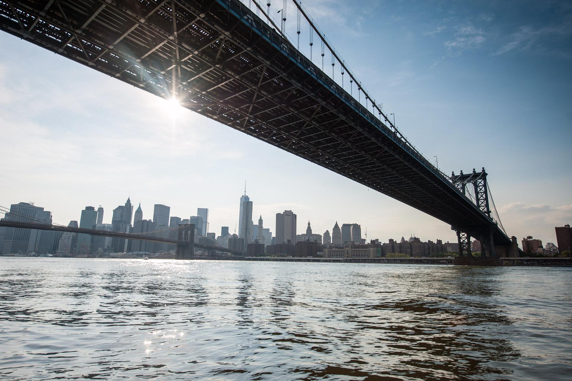 Manhattan Bridge, New-York. Photo Gérard Perez
