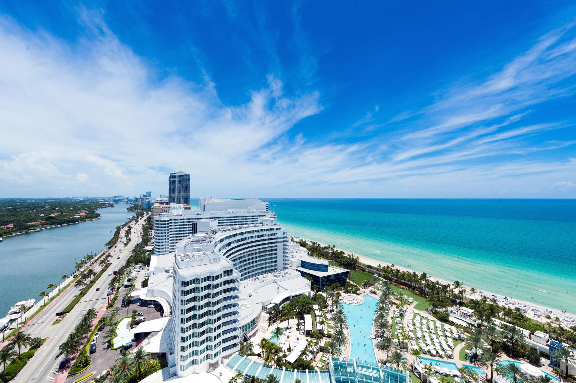 Miami Beach, rive droite. Photo Gérard Perez