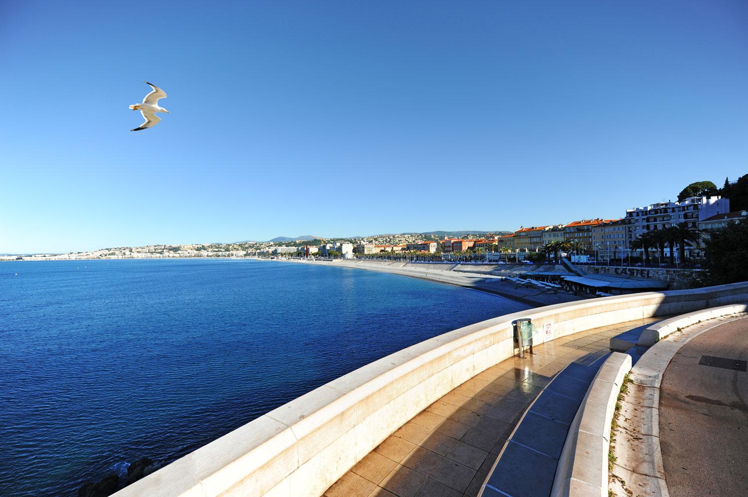 Nice, Quai Rauba Capeu. Photo Gérard Perez