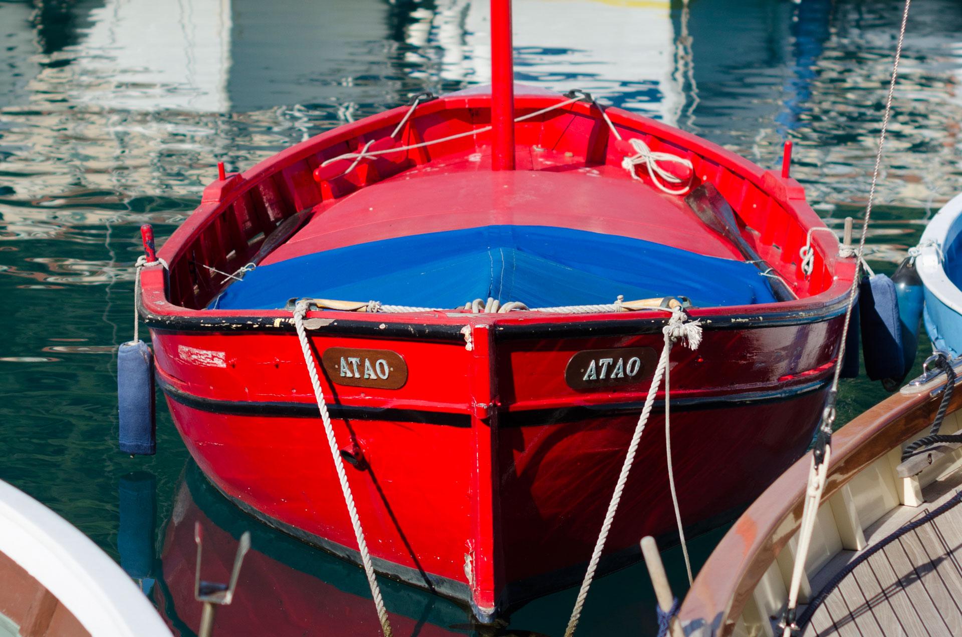 Pointus au Port de Nice. Photo Gérard Perez
